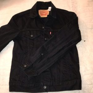 Women's Levi's Black Denim Jean Jacket